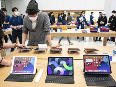 Apple Nears Launch of New iPads After Stay-At-Home Sales Boost
